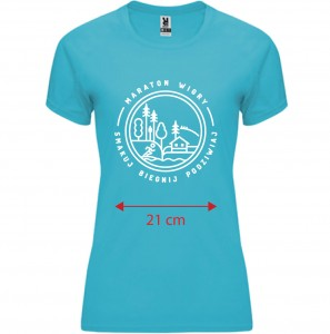 Short sleeve shirt Maraton Wigry female - edition 2020